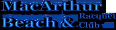MacArthur Beach & Racquet Club Logo